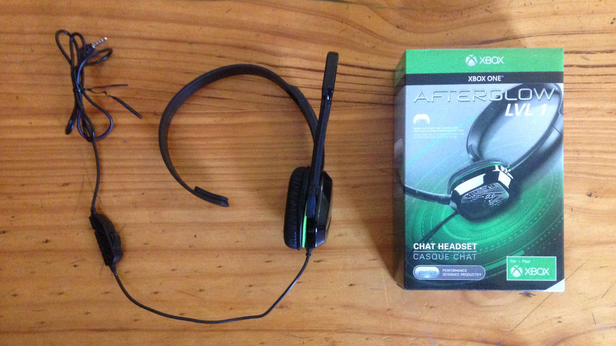 Afterglow Lvl 1 Communicator Wired Gaming Headset For Xbox One The