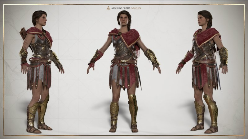 Ac Odyssey Kassandra And Alexios Cosplay Guides The Nexus