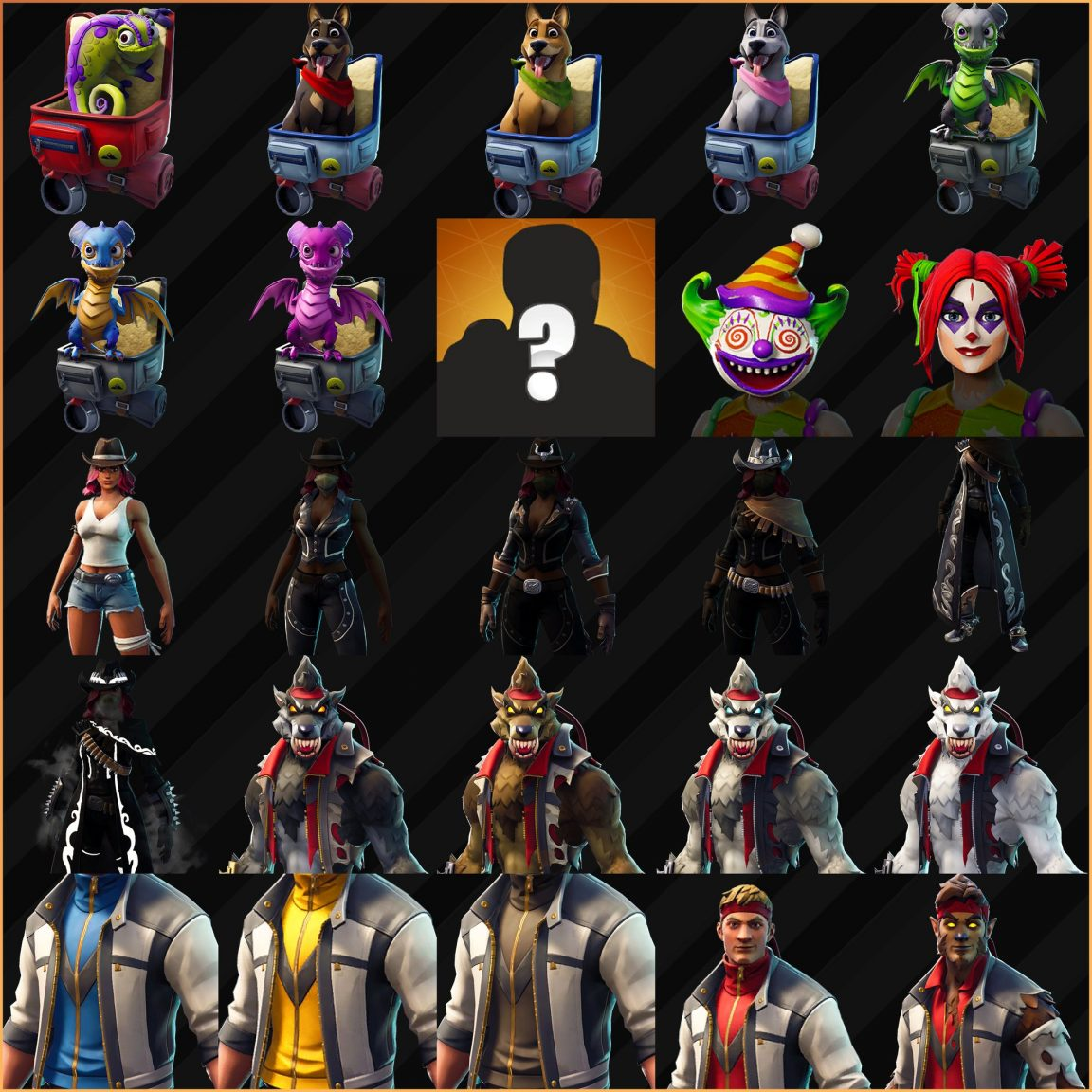 All Halloween Skins Fortnite 2018.Fortnite Season 6 Kicks Off With New Skins Map Changes And