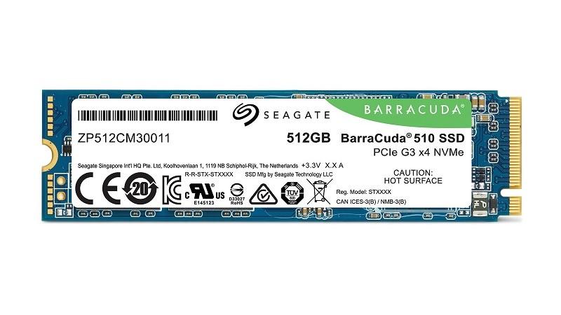 Review: Seagate BarraCuda 510 512GB NVMe SSD | The Nexus