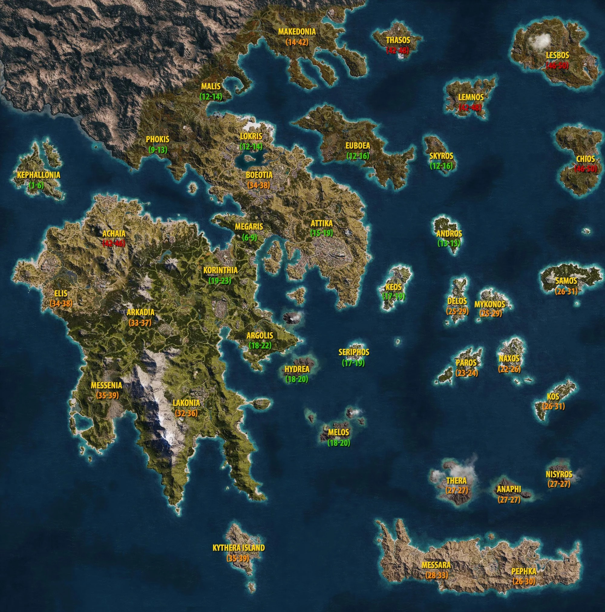Rumour Assassin S Creed Ragnarok S Map Will Be Twice The Size Of Odyssey The Nexus