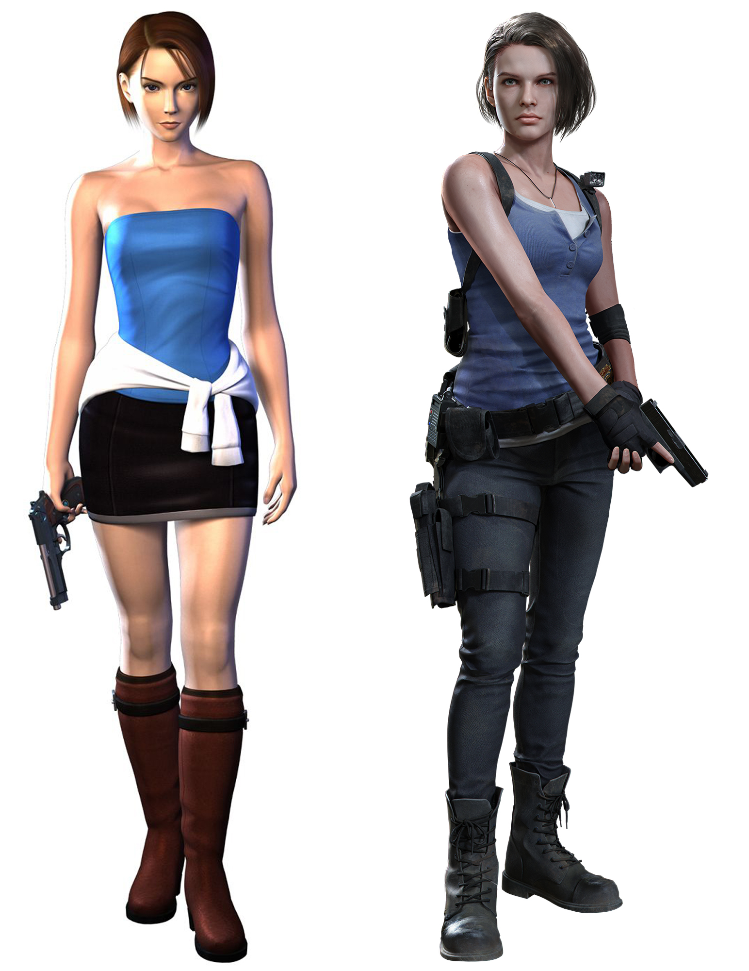 A Closer Look At Jill Valentine S Redesign In Resident Evil 3