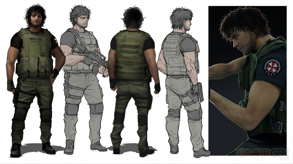 Resident Evil 3 Closer Look Over 40 New Screenshots Concept Art