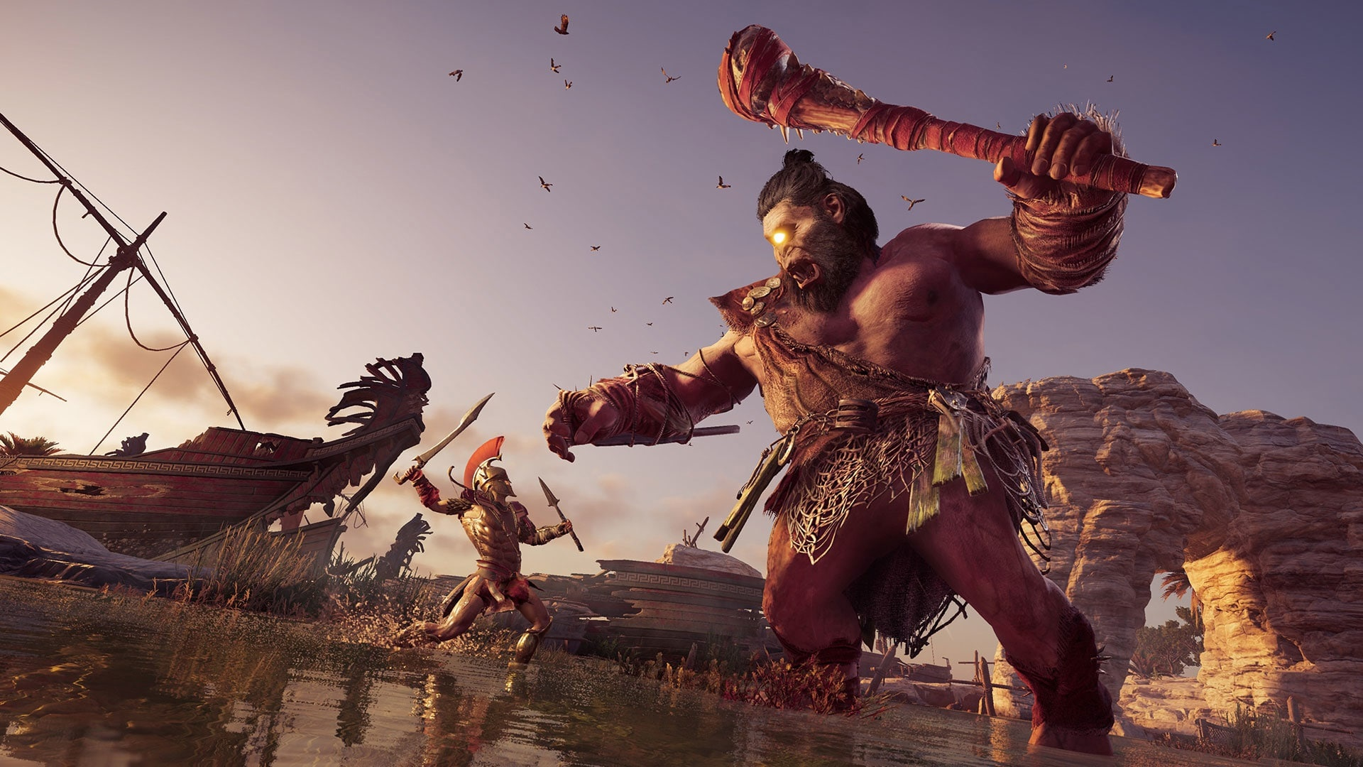 Lockdown Gaming Day 21 22 Assassin S Creed Odyssey The Nexus