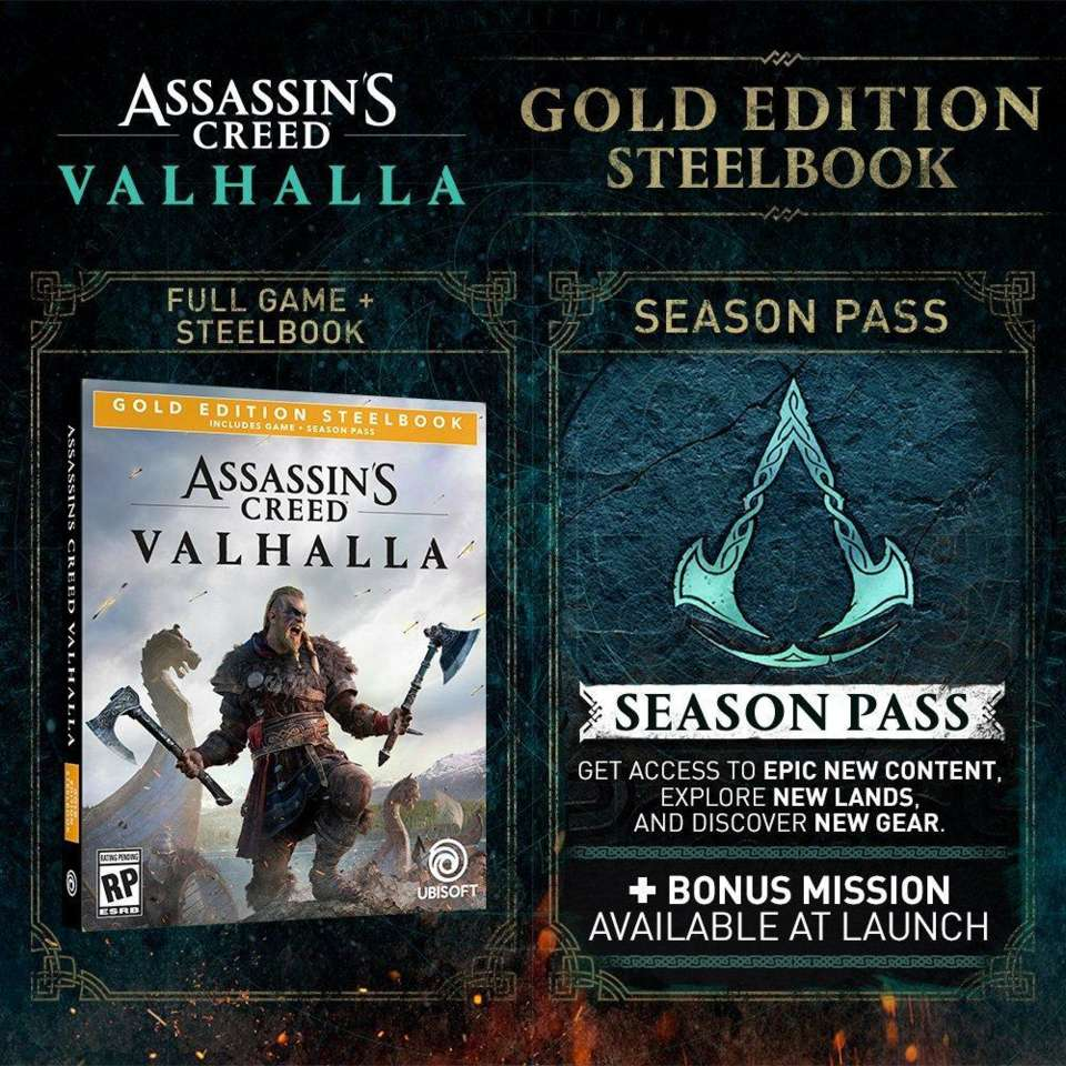 Assassin S Creed Valhalla Gold Ultimate And Collector S Editions