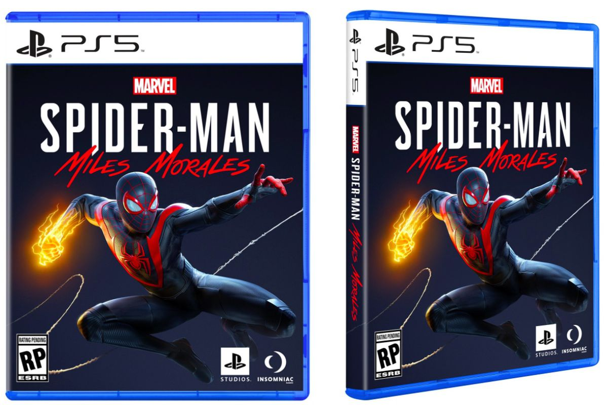Ps5 Games Box Art Revealed With Spider Man Miles Morales The Nexus