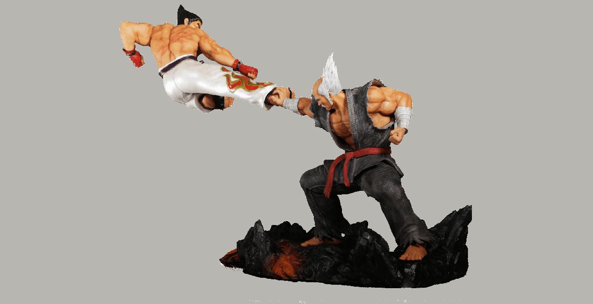 Tekken 7 Kazuya Vs Heihachi Figure Impressions The Nexus