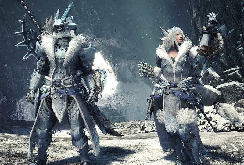 Monster Hunter World Iceborne Frostfang Barioth Armor And Stats