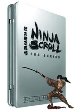 Ninja Scroll The Series Special Edition Ultimate Collection Z1 Anime Boxsets Second Hand For Sale Online At Nexus Retail