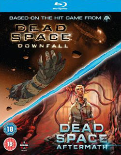 Dead Space Downfall Dead Space Aftermath Double Pack Blu Ray