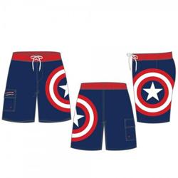 357bbf40d6466 Captain America: Shield (L) Boardshorts | Miscellaneous | For Sale ...