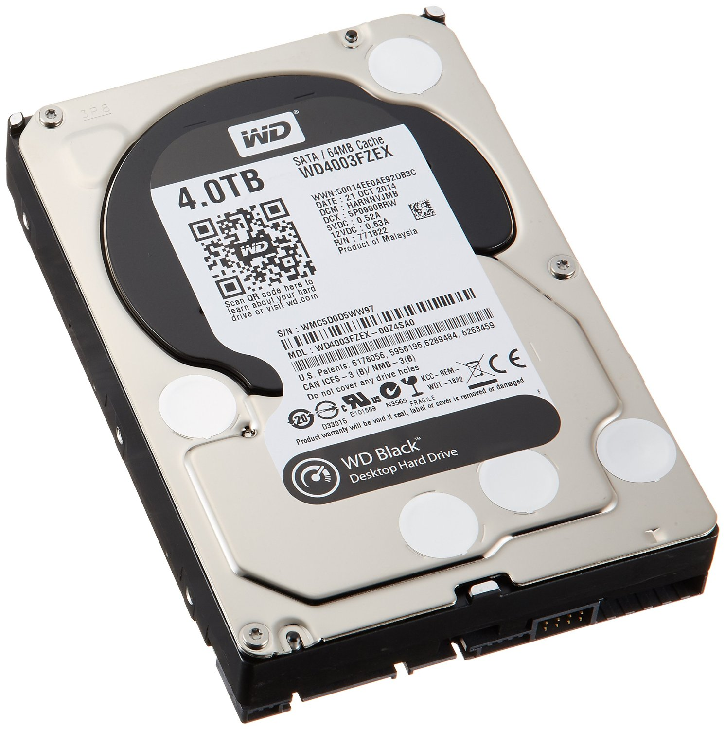 WD DT Black Series - 4TB   Hard Drives   For Sale Online at AWX
