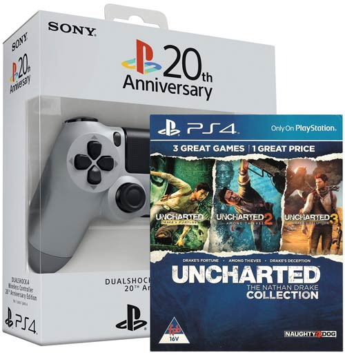 Playstation 4 Dualshock 4 20th Anniversary Limited Edition