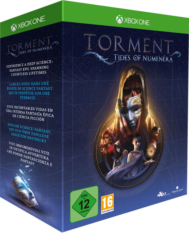 Torment: Tides of Numenera Collector's Edition
