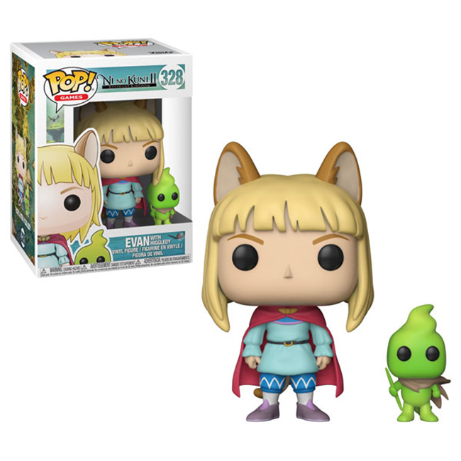 Pop! Ni No Kuni II: Evan with Higgledy Vinyl Figure