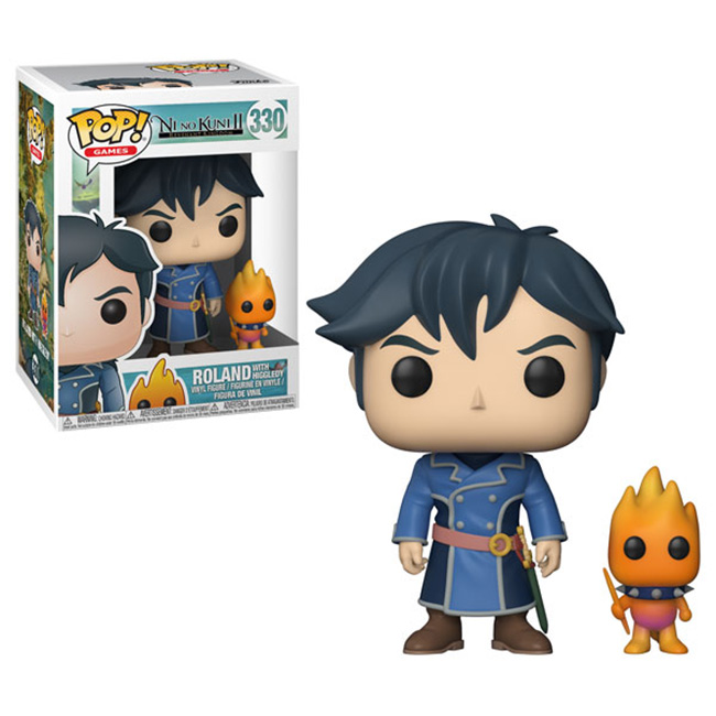 Pop! Ni No Kuni II: Roland with Higgledy Vinyl Figure