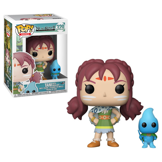 Pop! Ni No Kuni II: Tani with Higgledy Vinyl Figure