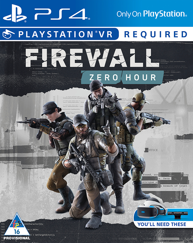 Firewall: Zero Hour (PlayStation VR Required)