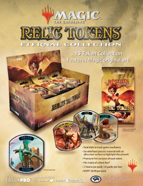 Relic Tokens Eternal Collection for Magic: The Gathering | Supplies