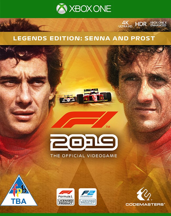 F1 2019 Legends Edition: Senna and Prost