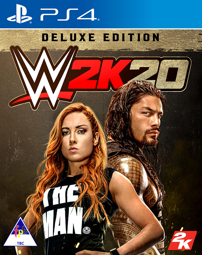 2K Sports WWE 2K20 Deluxe Edition