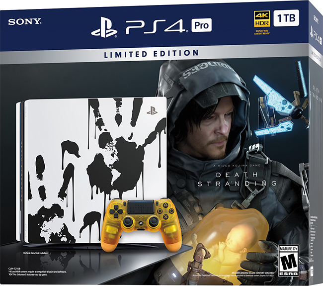 PlayStation 4 Pro Death Stranding Limited Edition Console
