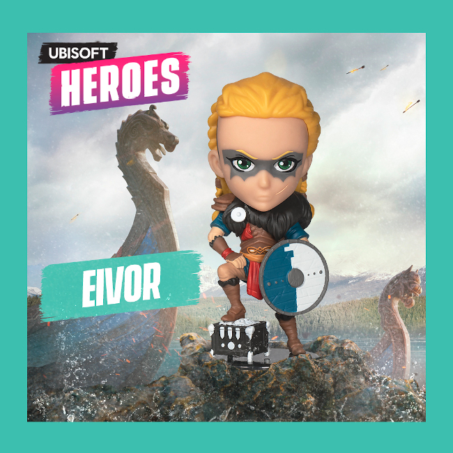 Ubisoft Heroes Series 2: Assassin's Creed Valhalla Eivor Female