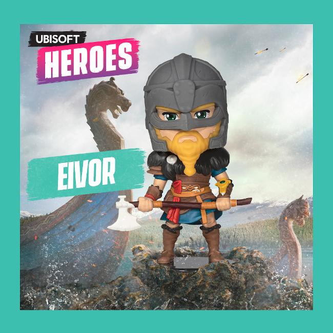 Ubisoft Heroes Series 2: Assassin's Creed Valhalla Eivor Male