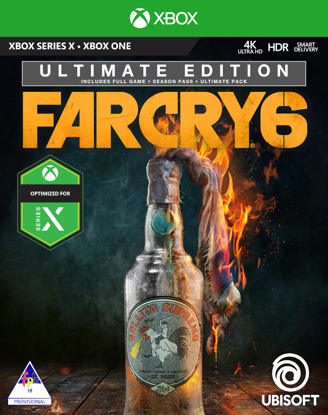 Far Cry 6 Ultimate Edition Xbox One Games For Sale Online At