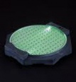 Action Base: Bandai Lighting Base Plate Type - Green Version (Supplies)