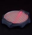 Action Base: Bandai Lighting Base Plate Type - Red Version (Supplies)