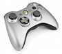 Xbox 360 S Wireless Controller with Xbox 360 Play and Charge Kit Special Edition (Silver) (Xbox 360 Hardware)