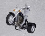figma ex:ride - ride.008: Three Wheeler Motorcycle (Black) (Fantasy, Sci-Fi and Misc.)
