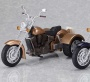 figma ex:ride - ride.008: Three Wheeler Motorcycle (Gold) (Fantasy, Sci-Fi and Misc.)