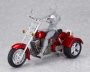 figma ex:ride - ride.008: Three Wheeler Motorcycle (Red) (Fantasy, Sci-Fi and Misc.)