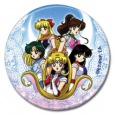 Sailor Moon Button: Group 02 (Pins, Buttons, Badges)