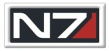 Mass Effect Patch: N7 Logo