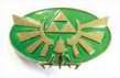 Legend of Zelda Belt Buckle: Twilight Princess Gold / Green