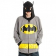 Batman: Costume Gray (L) Hoodie (Hoodies)