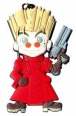 Trigun Keychain: Vash the Stampede Super Deformed (Keychains)