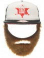 Chuck Norris Cap: Trucker Cap with Beard (Caps / Beanies)