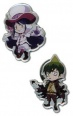 Blue Exorcist Pin Set: Mephisto and Amaimon (Pins, Buttons, Badges)