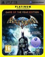 Batman: Arkham Asylum Game of the Year Edition (Platinum) (PlayStation 3 Games)